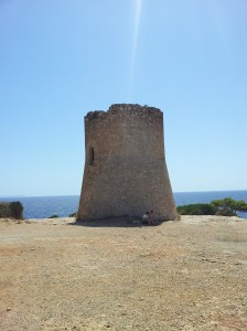 old defences on the coast